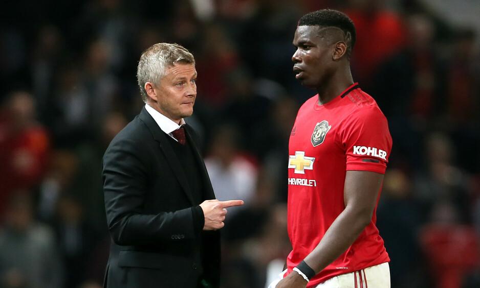 SKADEUTSATT: Manchester United har slitt med mange skader i det siste. Paul Pogba er tilbake, men Marcus Rashford er tvilsom. Foto: Richard Sellers / Pa Photos / NTB Scanpix