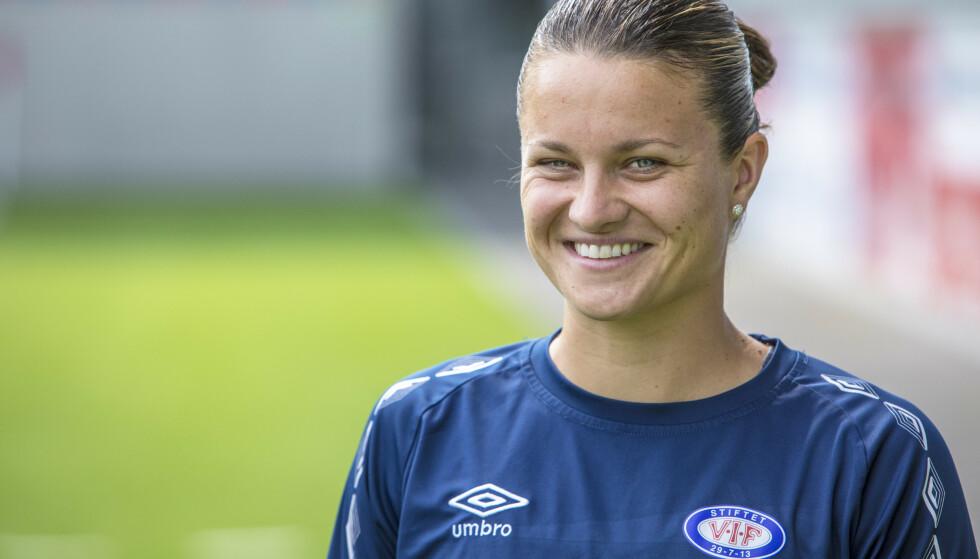 BRA SESONG: Sherida Spitse er én av flere spillere i Toppserien som har hatt en god sesong. Foto: NTB Scanpix