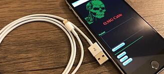 Denne Iphone-laderen kan hacke datamaskinen din