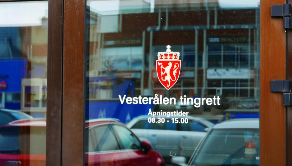 KAN BLI NEDLAGT: Vesterålen tingrett i Sortland er blant tingrettene som nå foreslås nedlagt. Foto: André Lorentsen / NTB scanpix