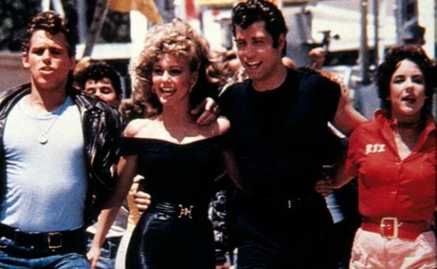 SUKSESS: I den amerikanske musikalkomedien «Grease» fra 1978 hadde Olivia Newton-John en av hovedrollene som filmkarakteren Sandy. Foto: NTB Scanpix