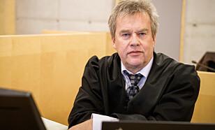 FORSVARER: Jørund Lægland forsvarer den voldstiltalte 23-åringen. Foto: Øistein Norum Monsen / Dagbladet