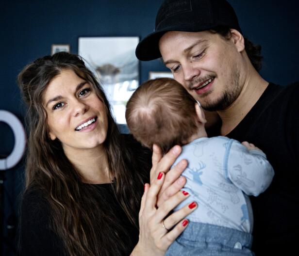<strong>ENDRES:</strong> Kristin Gjelsvik og Dennis Poppe ser for seg at sønnen også vil spise plantebasert. Foto: Nina Hansen / Dagbladet