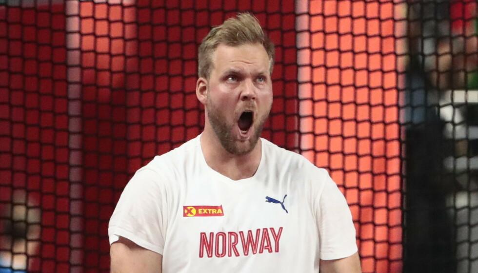 SJETTEPLASS: Eivind Henriksen endte på sjetteplass i årets VM. Foto: Lise Åserud / NTB Scanpix