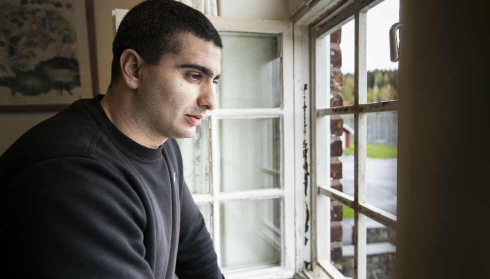 I FORVARING: Khalil Hadib soner en forvaringsdom i Ila fengsel og forvaringsanstalt. Han frykter at han aldri vil slippe ut. Foto: Lars Eivind Bones / Dagbladet