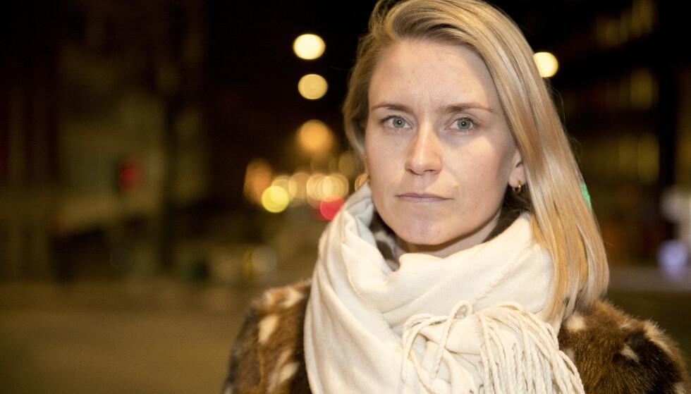 SLÅR TILBAKE: Ap-politiker Line Oma går hardt ut mot Haddy Njie i et innlegg på Facebook. Foto: Torstein Bøe / NTB scanpix