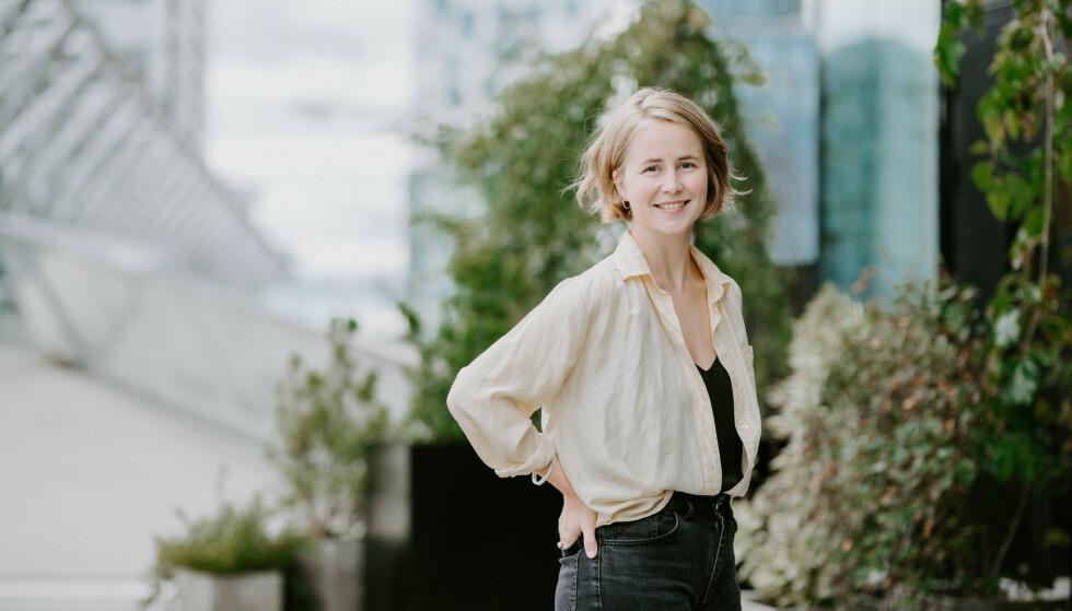 <strong>POSITIV:</strong> Anja Bakken Riise i Framtiden i våre hender roser Max' innsats for miljøet. Foto: Renate Madsen / FIVH