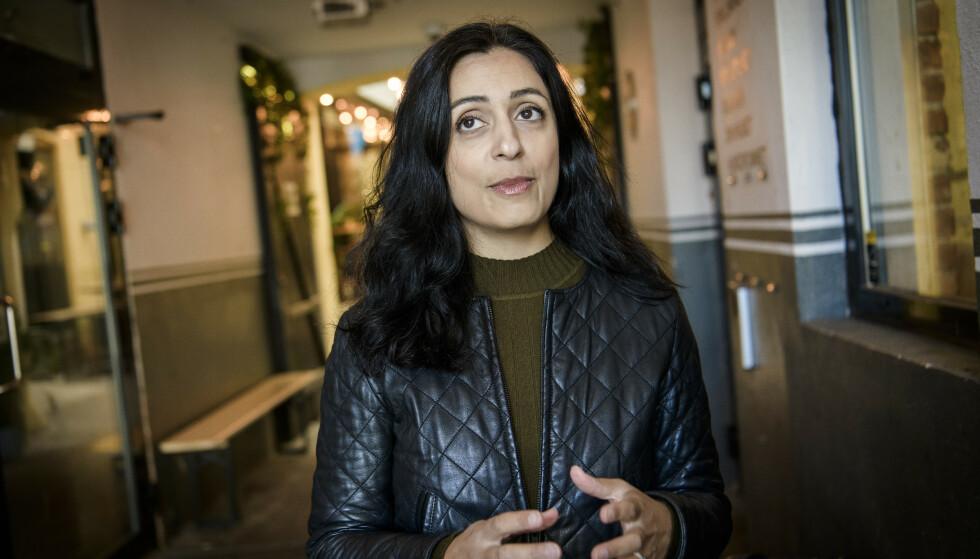 MOTMÆLE: Ap-nestleder Hadia Tajik slår tilbake mot feilaktige påstander mot henne i Haddy Njies «Dagbok». Foto: Lars Eivind Bones