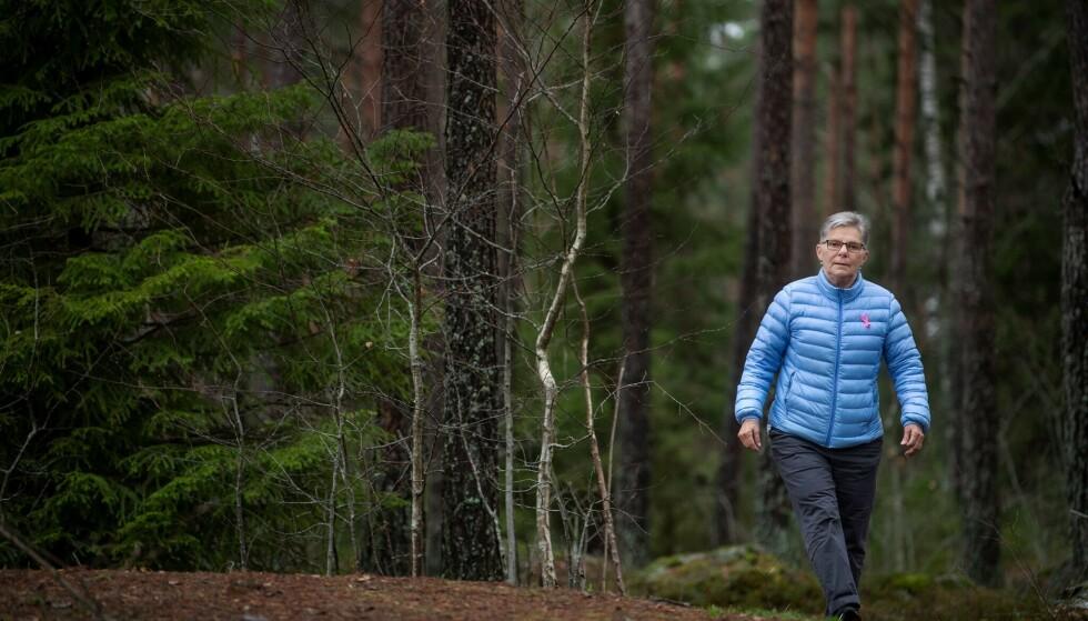 FORSVANT: Da Rita Vinblad var tre år, forsvant hun sporløst i en svensk skog. Foto: Jonas Billberg