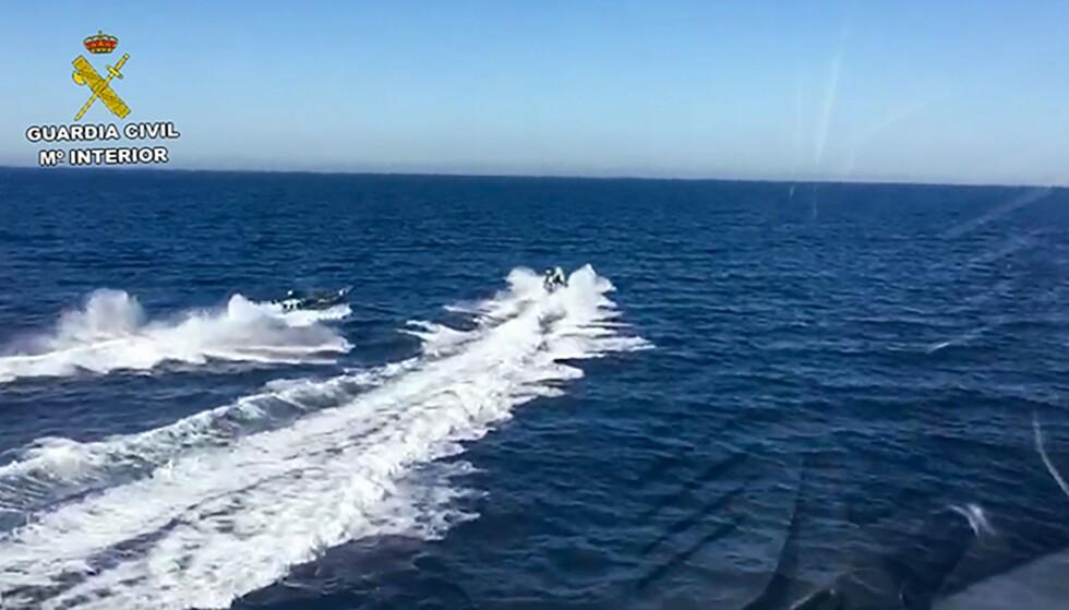 POLITIJAKT: Ulykken inntraff under vill båtjakt. Foto: AFP/NTB Scanpix