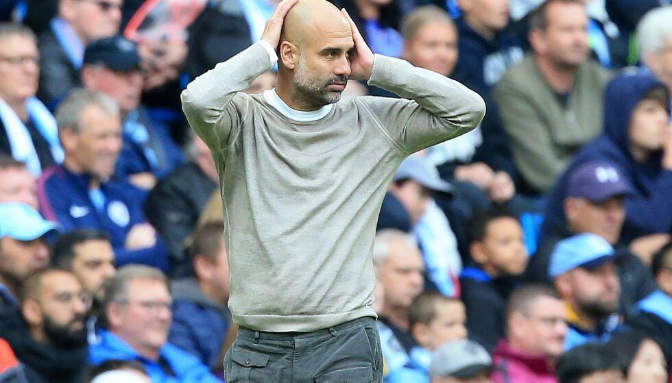 TAPTE: Manchester City gikk på et sjokktap mot Wolves. Foto: Lindsey Parnaby / AFP / NTB Scanpix
