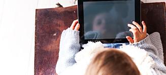 Vær varsom med nettbrett til skolebarna