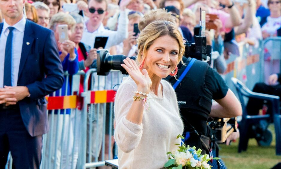 LITEN PÅVIRKNING: Etter det svenske kongehusets endringer, kommer det fram at prinsesse Madeleine ikke vil bli påvirket i særlig stor grad. Foto: NTB Scanpix