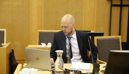 AKTOR: Terje Nedrebø Michelsen. Foto: Henning Lillegård / Dagbladet