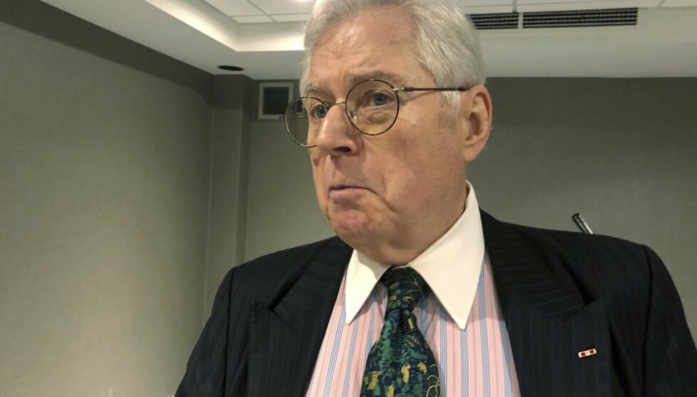 DUM OG LAT: Richard Neely ønsker å gjøre comeback i West Virginias høyestrett. Hvorvidt velgerne ønsker seg «Amerikas dummeste og lateste dommer» gjenstår å se. Foto: AP Photo / John Raby / NTB scanpix