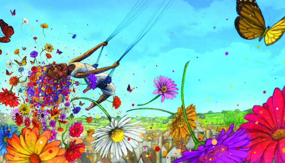 STORE FORVENTNINGER: Illustratør og forfatter Lisa Aisato har blitt en favoritt hos mange lesere. Illustrasjon fra boka