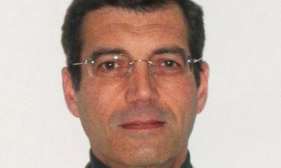 MISTENKT: Xavier Dupont de Ligonnès ble fredag kveld pågrepet i Glasgow i Skottland. Mannen, som hevdet overfor familie, at han var hemmelig agent for USA, er mistenkt for å ha drept sin egen familie. Foto: AFP / NTB Scanpix