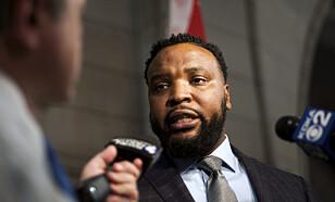 KREVER GRUNDIG ETTERFORSKNING: Familiens advokat Lee Merritt. Foto: AP / NTB Scanpix