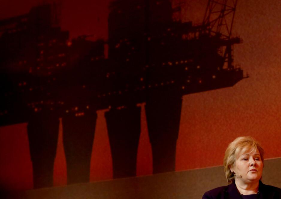 FÅR STRYK: Regjeringens klimaredegjørelse i årets statsbudsjett gir ikke noen konkrete svar på kobling mellom budsjettposter og utslippskonsekvenser, ei eller hvordan klimamålene skal nås, skriver artikkelforfatteren. Foto: Terje Pedersen / NTB Scanpix