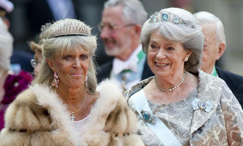 SØSTRENE SISTERS: Prinsesse Birgitta og prinsesse Margaretha er to av svenskekongens fire søstre. De har et nært bånd, men møtes sjelden. Nå avslører førstnevnte at drømmen om et nytt møte foreløpig er på vent. Foto: NTB scanpix