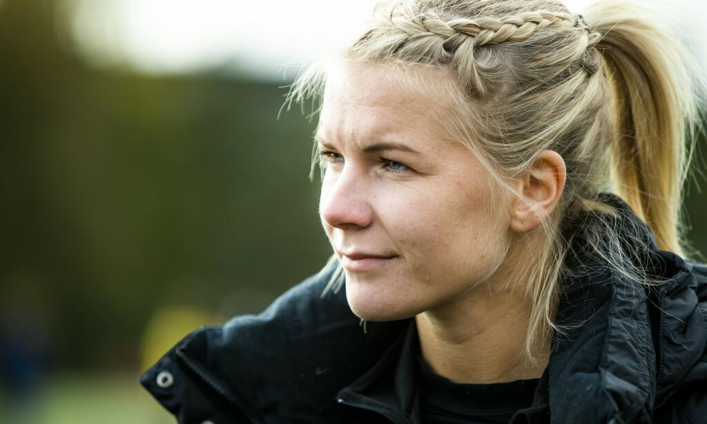 I REKORDBOK: Ada Hegerberg. Foto: NTB Scanpix