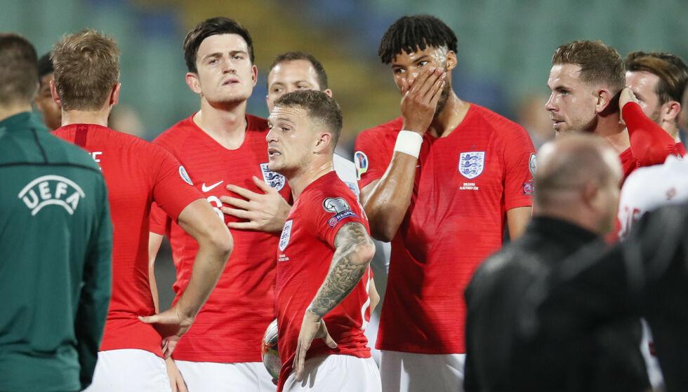 UTSATT FOR RASISME: Flere engelske spillere ble utsatt for rasistiske tilrop fra tribunen. Foto: David Klein/Sportimage via PA Images/NTB Scanpix