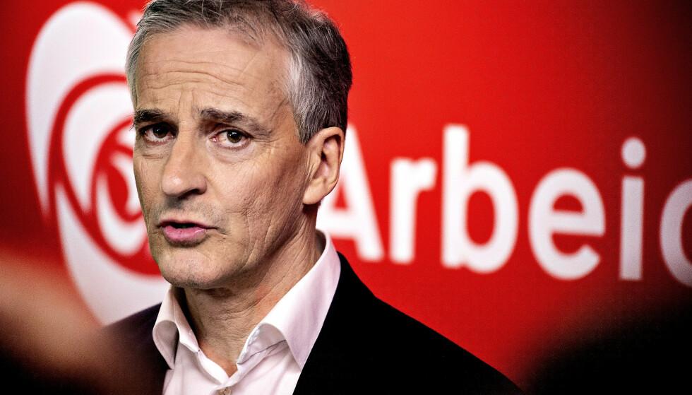 OLJEFOND-DEBATT: Jonas Gahr Støre har vakt oppsikt med sin uttalelse om Oljefondet. Foto: NTB Scanpix