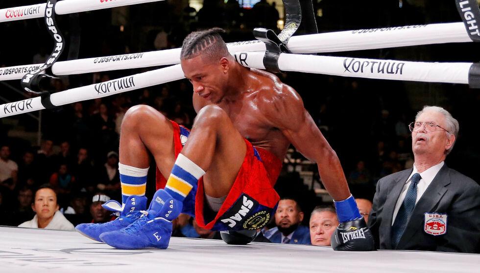 DØDE: Patrick Day døde etter en boksekamp. Foto: Jon Durr/USA TODAY/NTB Scanpix