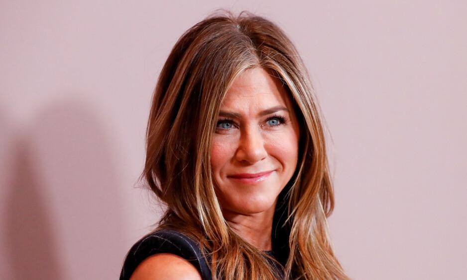VERDENSREKORD: Jennifer Aniston kan nå fryde seg over å være den som har nådd én million følgere på Instagram raskest i hele verden. Foto: NTB Scanpix