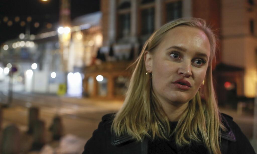 REAGERER: Sofie Frøysaa har selv vokst opp med to mødre og reagerer sterkt på Andreas Håtveits uttalelser. Foto: NTB Scanpix