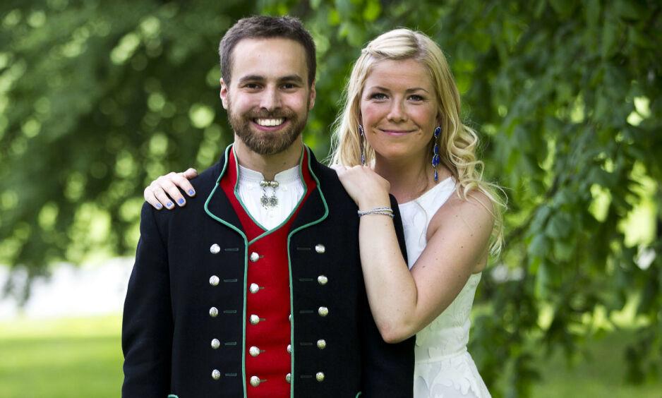 SLUTT: Tv-paret Vebjørn Tveiterås og Annabelle Bauer går fra hverandre, etter fem år som rette ektefolk. Foto: TVNorge