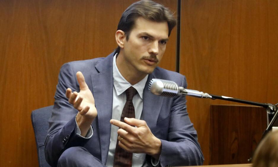 VITNET: Skuespiller Ashton Kutcher (41) vitnet under rettssaken mot Micheal Gargiulo (43) i sommer. Nå har juryen stemt for dødsstraff for Gargiulo som allerede er funnet skyldig i to drap og ett drapsforsøk. Foto: Genaro Molina / Los Angeles Times / AP / NTB Scanpix
