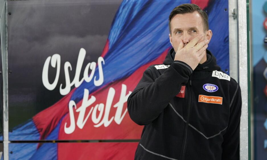 TRENER: Ronny Deila og Vålerenga tapte mot Stabæk i kveld. Foto: NTB scanpix