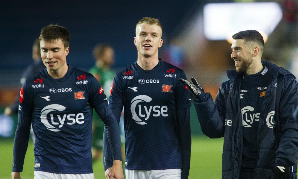 SCORING: Samuel Kari Fridjonsson etter kampen mellom Viking og Tromsø på SR-Bank Arena. Foto: Carina Johansen / NTB scanpix