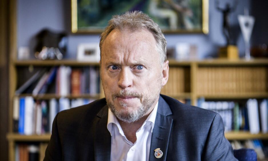 GJENGPRAT: I forbindelse med helgas voldshendelser krever byrådsleder Raymond Johansen (Ap) at politiet skal knuse de kriminelle gjengene i Oslo. Foto: Lar Eivind Bones / Dagbladet