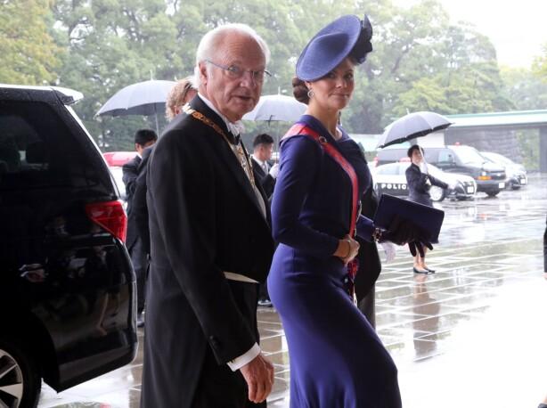 SÖTA BROR: Sverige sendte både kong Carl Gustaf og kronprinsesse Victoria til Japan. Foto: NTB scanpix