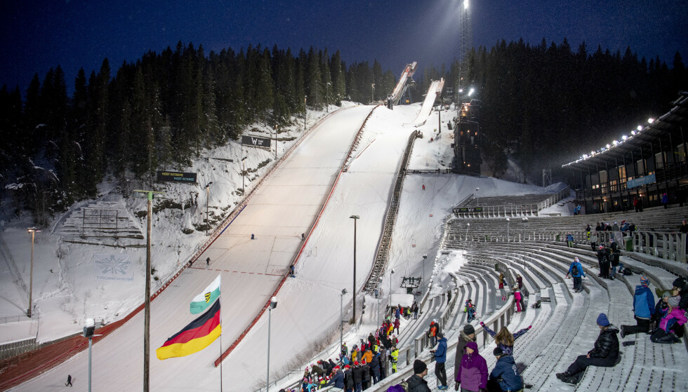 180 MILLIONER: Granåsen får penger til oppgradering før VM på ski i 2025. Foto: Ole Martin Wold / NTB scanpix