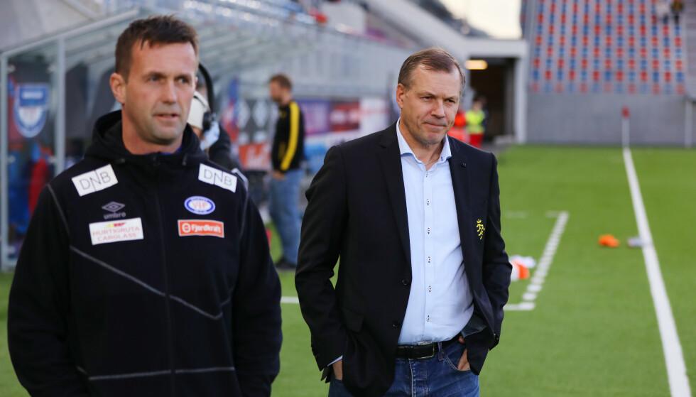 TRISTE TIDER: Kjetil Rekdal er oppriktig bekymret for tilstanden i gamleklubben. Foto: NTB/Scanpix