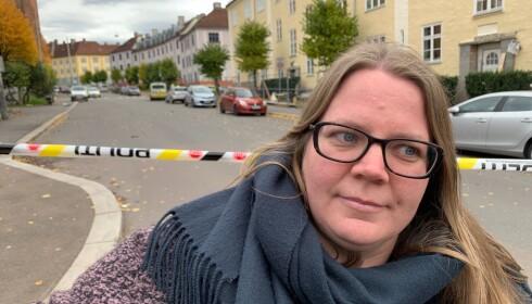 VARSLET SKOLEN: Tonje Misund Asphaug. Foto: Øystein Andersen