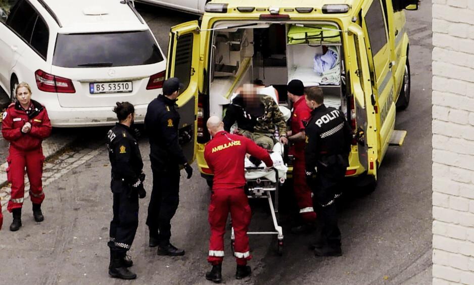 LANG HISTORIKK: Dagbladets gjennomgang viser at mannen har et tosifret antall dommer på seg. Dommene omhandler vold, våpen, narkotika og vinningslovbrudd. Foto: Atle Silgjerd