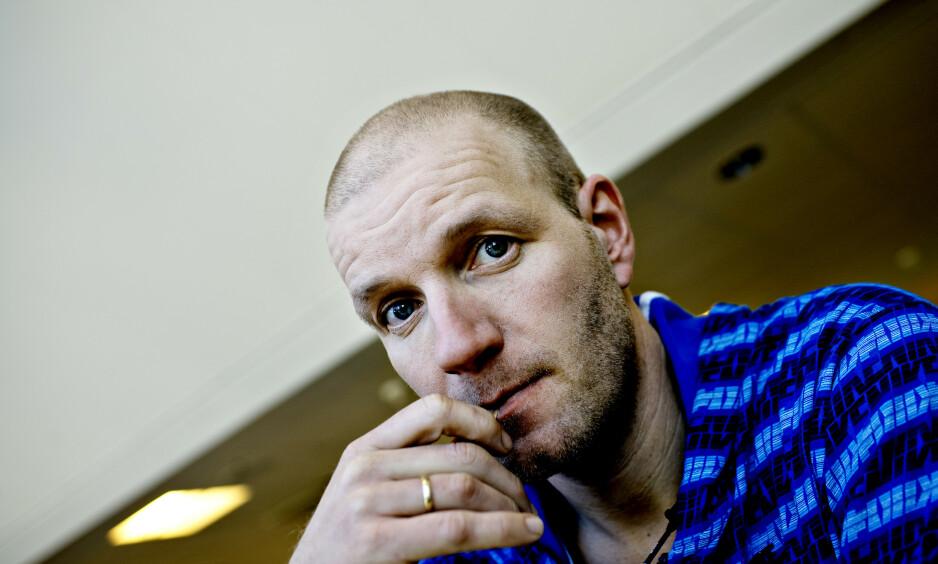 PANIKK: Bård Tufte Johansen avslører i en podkast at han fikk et panikkanfall i forkant av premieren på sitt nye show. Foto: Lars Eivind Bones / Dagbladet