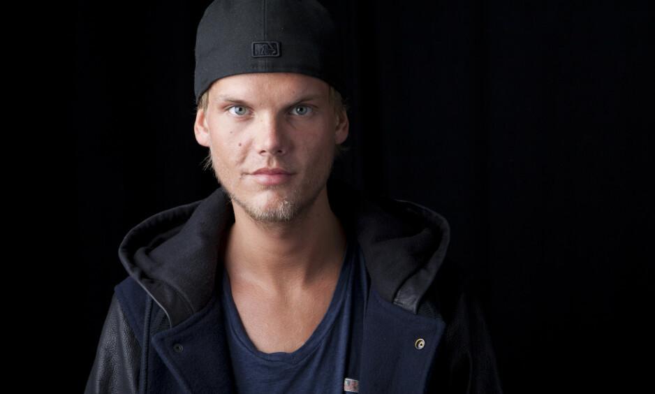 I SJOKK: I april 2018 ble Tim Bergling, kanskje best kjent som Avicii, funnet død på et hotellrom i Oman. Dødsfallet kom som en overraskelse på mange. Foto: NTB Scanpix
