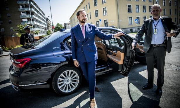 KOMMENTERER KONTROVERSIELL BOK: Kronprins Haakon. Foto: Christian Roth Christensen / Dagbladet