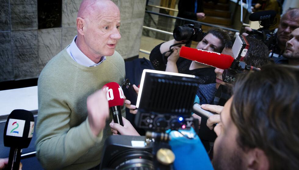 DØMT: Jan Erik «Jannik» Iversen ble i dag dømt til 20 måneders fengsel. Foto: Henning Lillegård / Dagbladet