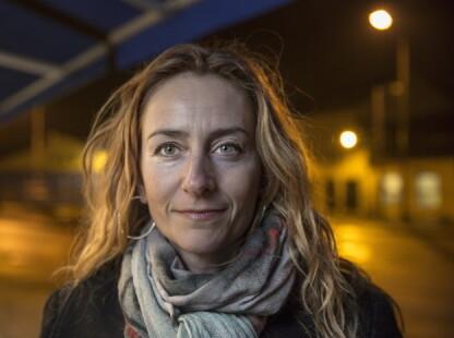 SOSIALE MEDIER: Kristin Aga, leder av Oslo politiforening ønsker ikke at bilder og videoer av politiet i aksjon publiseres på sosiale medier. Foto: Lars Eivind Bones