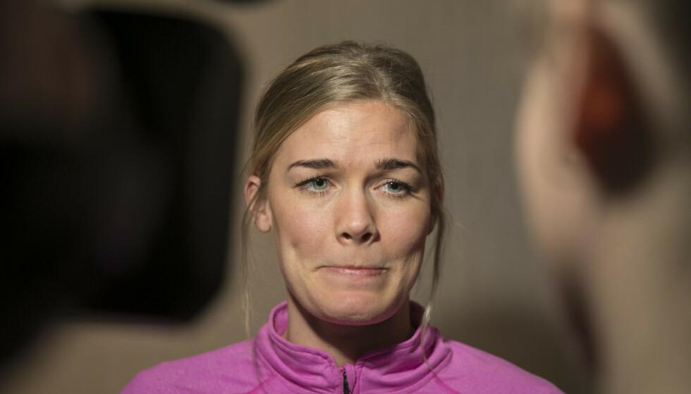 SKADET: Veronica Kristiansen blir ikke spilleklar til årets VM i håndball. Foto: Vidar Ruud / NTB scanpix.