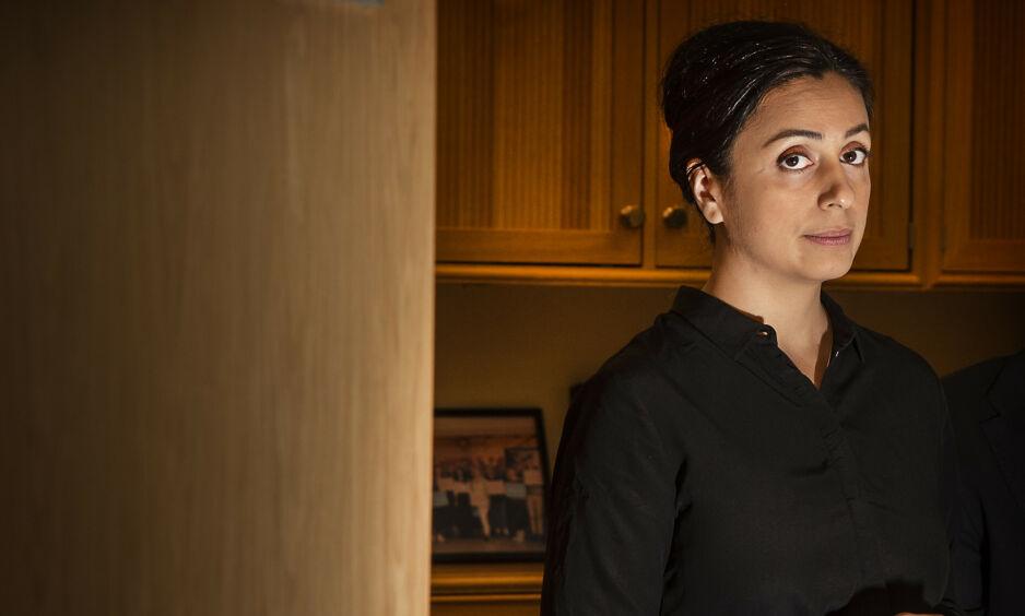 KRITISK: Ap-nestleder Hadia Tajik går hardt ut mot det hun kaller klimavoodoo fra regjeringen, men får svar på tiltale fra klimaminister Ola Elvestuen (V). Foto: Hans Arne Vedlog / Dagbladet