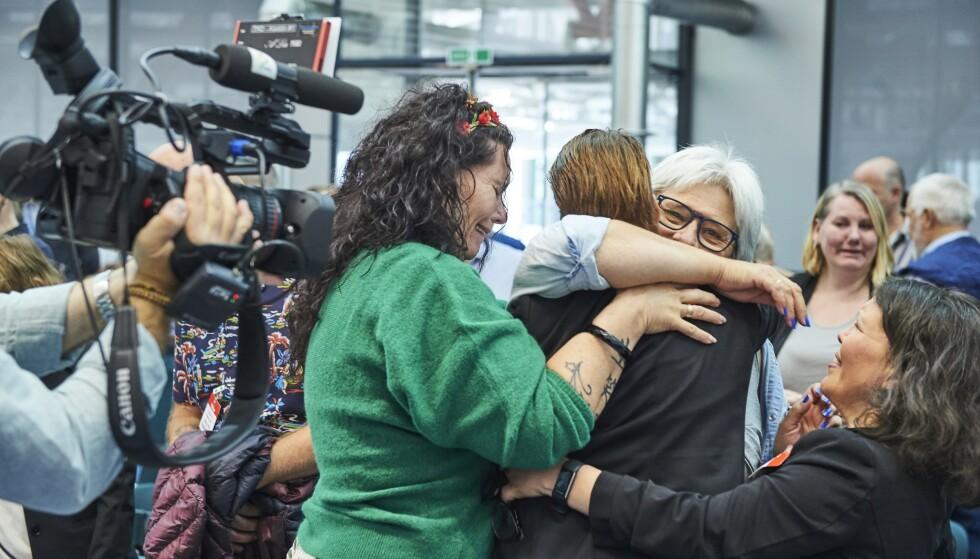 VANT: 10. september vant barnemor Trude mot Norge i Storkammeret i Den europeiske menneskerettsdomstol (EMD) Foto: EMD