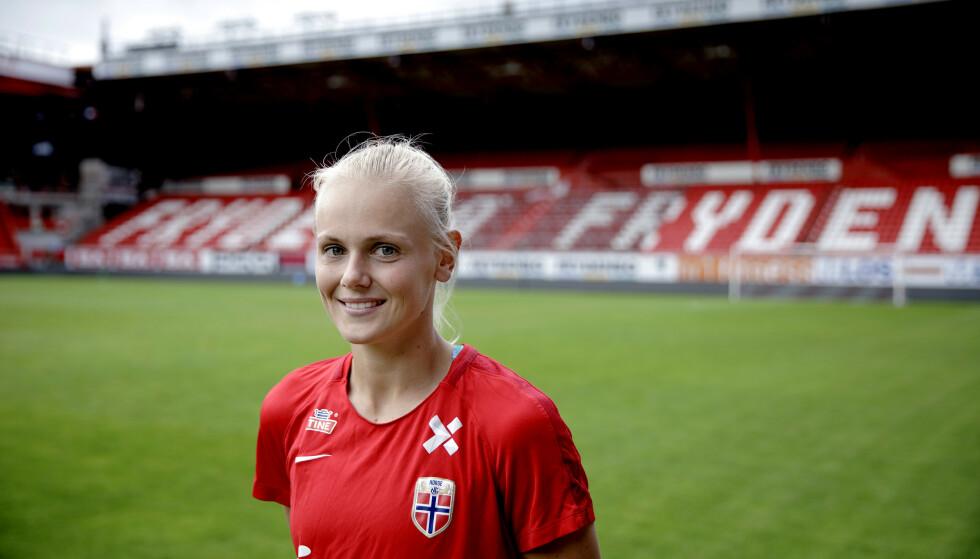 TABELLTOPP: Karina Sævik og PSG topper den franske ligaen. Foto: Paul Sigve Amundsen / NTB scanpix