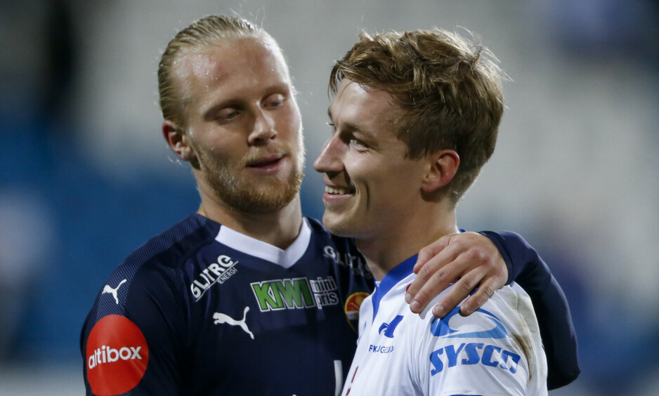 SCORINGSFORM: Lars-Jørgen Salvesen har scoret fem mål siden overgangen til Godset. Foto: Jan Kåre Ness / NTB scanpix